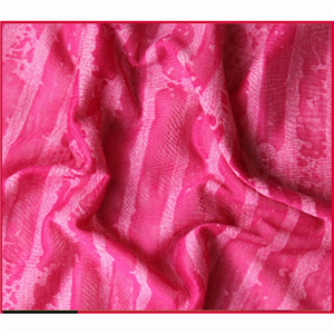 CVC Burnout Knitting Fabric