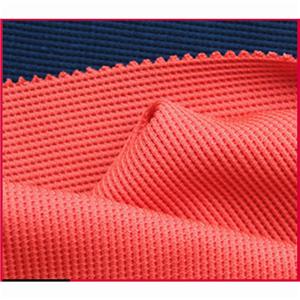 CVC Waffle Knitted Fabric