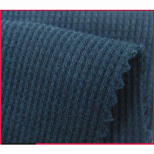 CVC Waffle Knitting Fabric