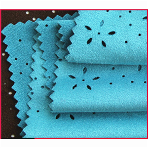 Polyester Spandex Suede Knitting Fabric