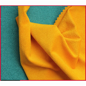 Polyester Spandex Suede Knitted Fabric