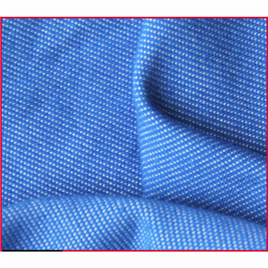 CVC Spandex Denim Knitted Fabric