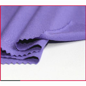 Polyester Spandex Crepe Knitting Fabric