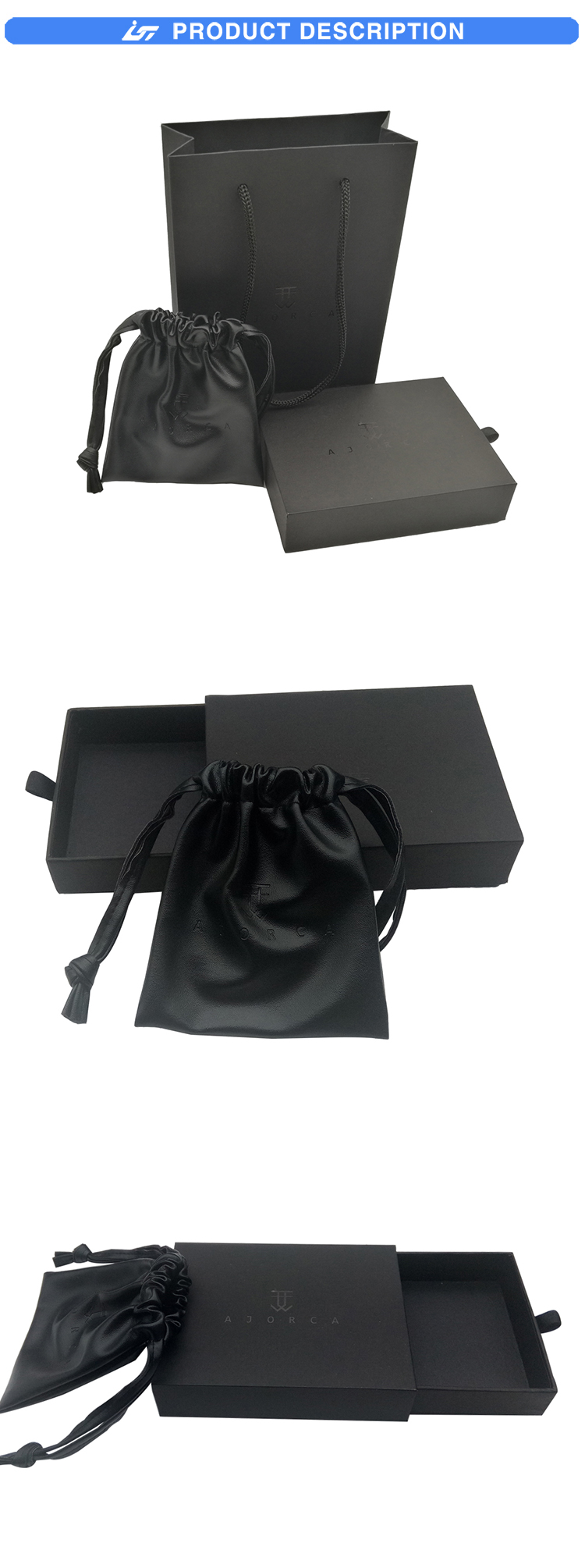 jewelry box black