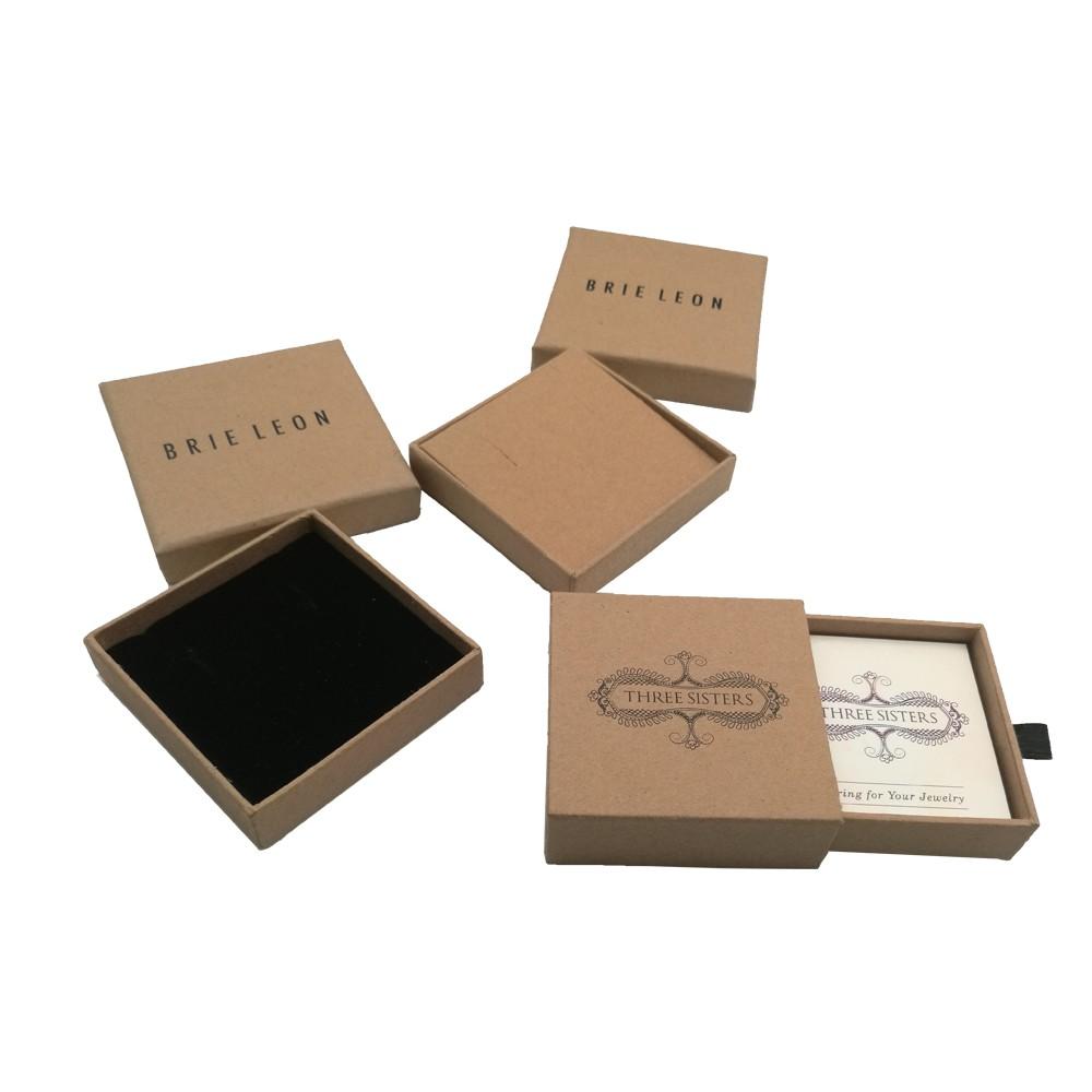 Paper Kraft Jewelry Box For Jewelry Manufacturers, Paper Kraft Jewelry Box For Jewelry Factory, Supply Paper Kraft Jewelry Box For Jewelry