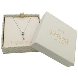 Velvet Gift Jewelry Packaging Collier Boîte