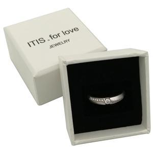 Boîte à bagues en velours pour bijoux de mariage