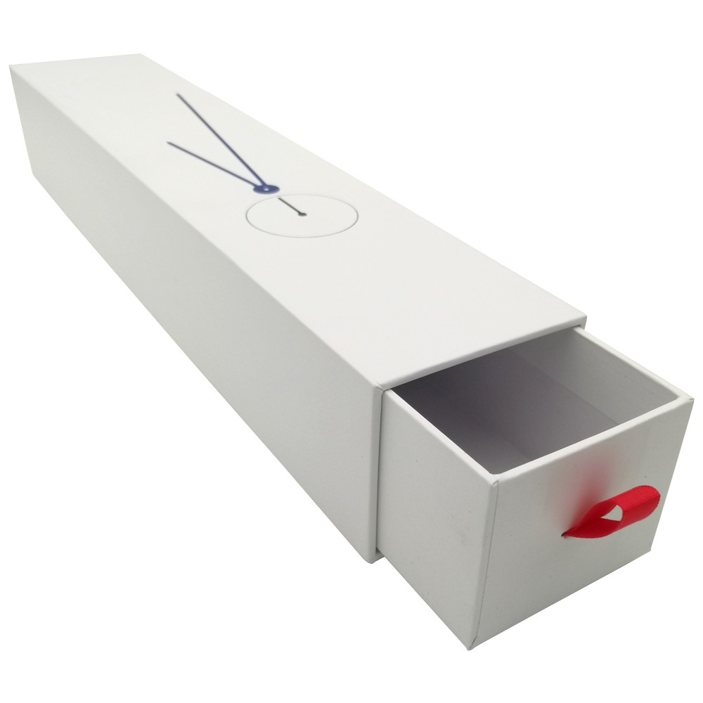 Logo Luxury Cardboard Strap Watch Box