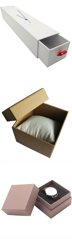 cardboard watch box