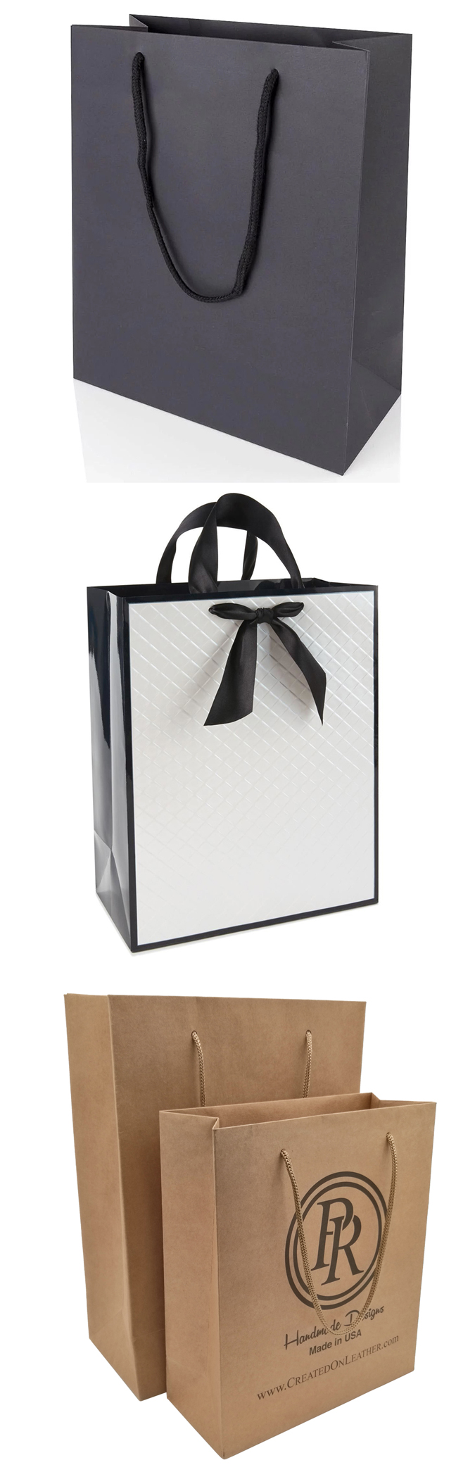 bolsa de papel de impresión personalizada
