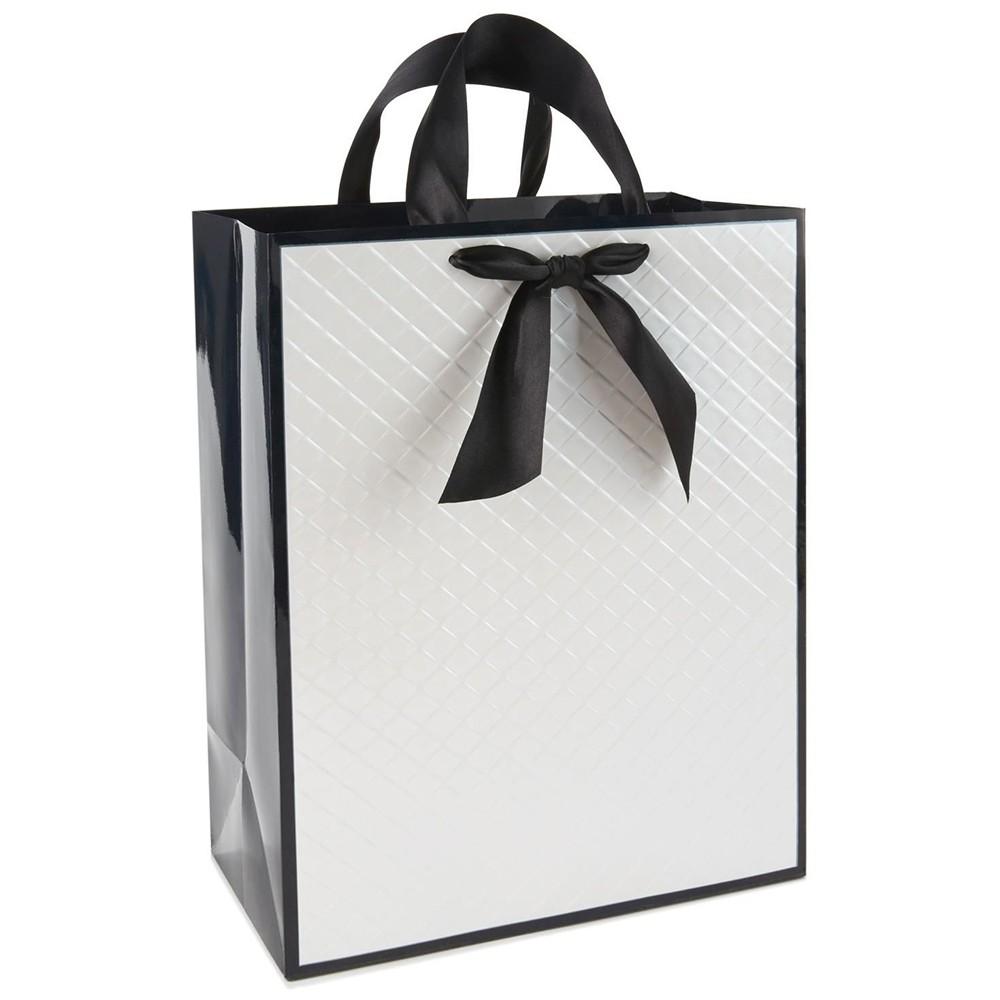 Bolsa de papel de embalaje reciclado con asa