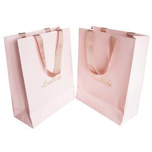Bolsas de papel de embalaje de boda por encargo