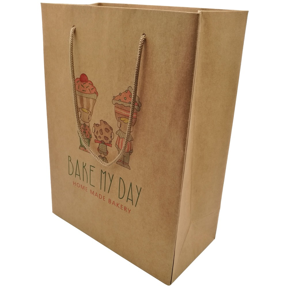 Gift Brown Kraft Paper Bag With Handle Manufacturers, Gift Brown Kraft Paper Bag With Handle Factory, Supply Gift Brown Kraft Paper Bag With Handle
