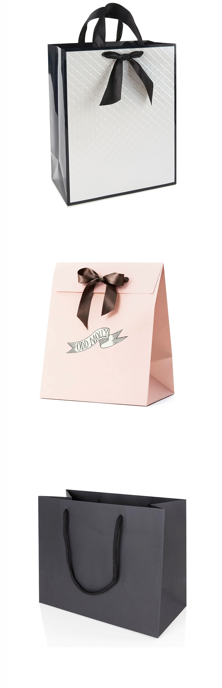 luxury paper bags with your own logo