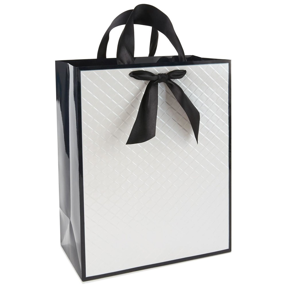 Shopping Gift Paper Bags With Ribbon Manufacturers, Shopping Gift Paper Bags With Ribbon Factory, Supply Shopping Gift Paper Bags With Ribbon