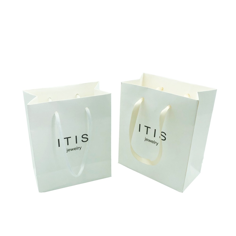 Design Gift Packing Jewellery Paper Bag