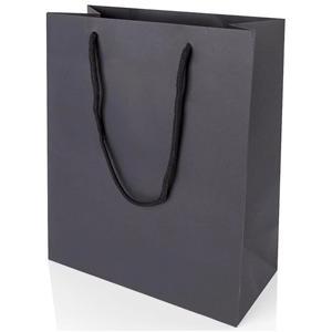 Brun Shopping Olika typer av papperspåsar