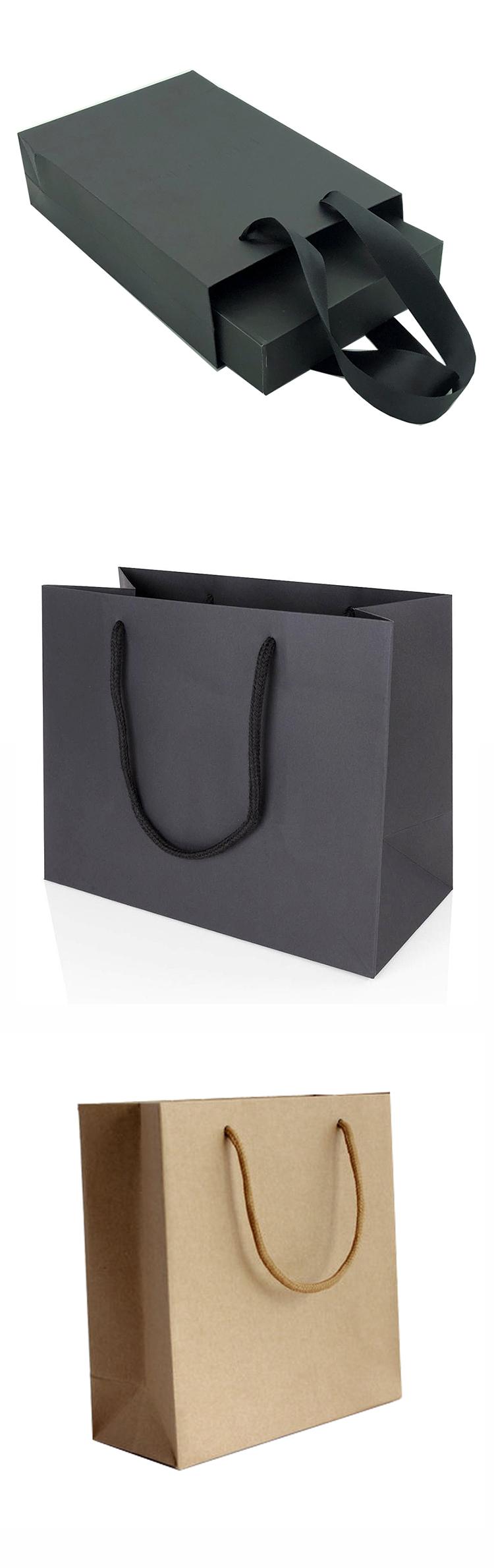 gift bag with logo print