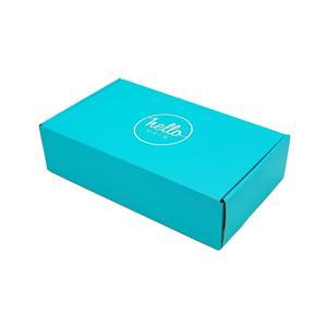 Embalaje de envío caja de ropa de regalo