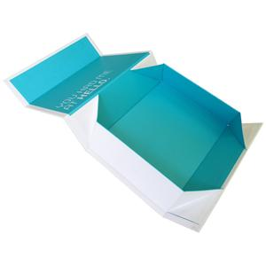 Cardboard Magnetic Gift Folding Paper Box