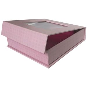 Gift Cardboard Packaging Paper Box With Window