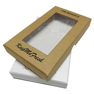 Corrugated Gift Kraft Paper Box With Window