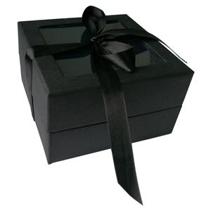 Cardboard Paper Gift Box With Clear Pvc Window