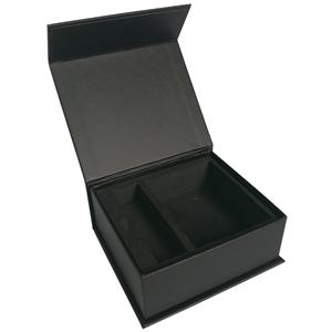 Designs Rigid Hard Packing Black Paper Box