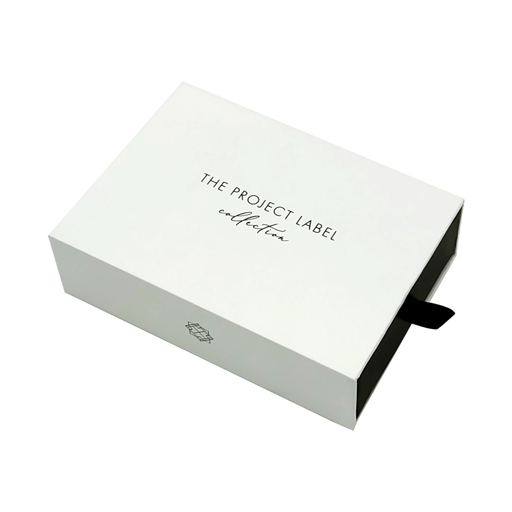 Printing White Gift Wedding Drawer Paper Box