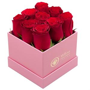 Luxury Gift Packaging Hat Paper Flower Box