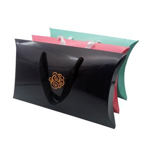 Large Gift Packaging Kraft Paper Pillow Box