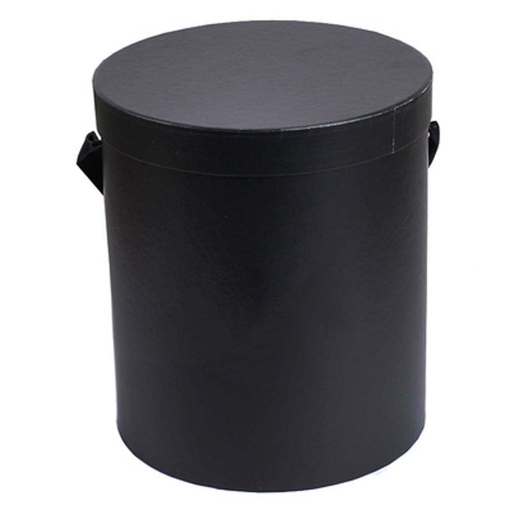 Caja de empaquetado de regalo de papel de cilindro de flor caja redonda