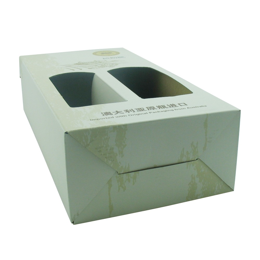 Cardboard Paper Packaging Glass Wine Box Manufacturers, Cardboard Paper Packaging Glass Wine Box Factory, Supply Cardboard Paper Packaging Glass Wine Box