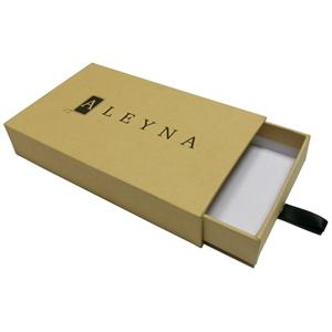 Kraft Paper Packaging Sliding Drawer Box