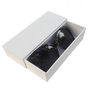Caja de papel de las gafas de sol del regalo de la cartulina del logotipo