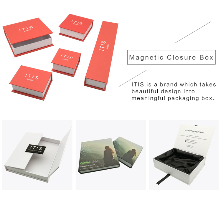 luxury hair extension packaging box