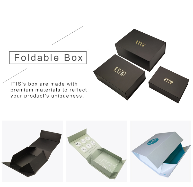 hair extension box packaging