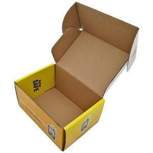 4 Color Printing Cardboard Packaging Color Box