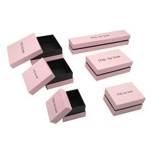 Подарочная упаковка картонные розовые упаковочные коробки