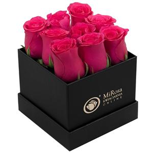 Luxury Packaging Hat Rose Flower Box