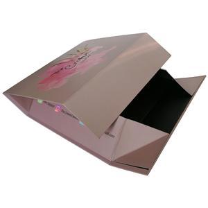 Boîte à chaussures pliable cadeau papier magnétique