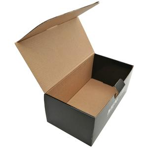 Shipping Packaging Matte Black Corrugated Box