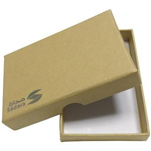 Gift Cardboard Packaging Brown Kraft Box
