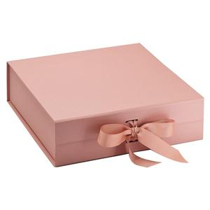 Large Gift Decorative Magnetic Boxes With Ribbon