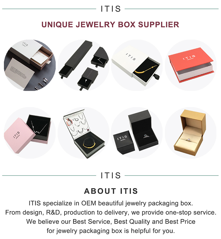 jewelry packaging box luxury