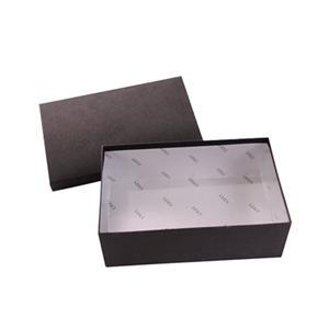 Cajas de zapatos de cartón cartón negro