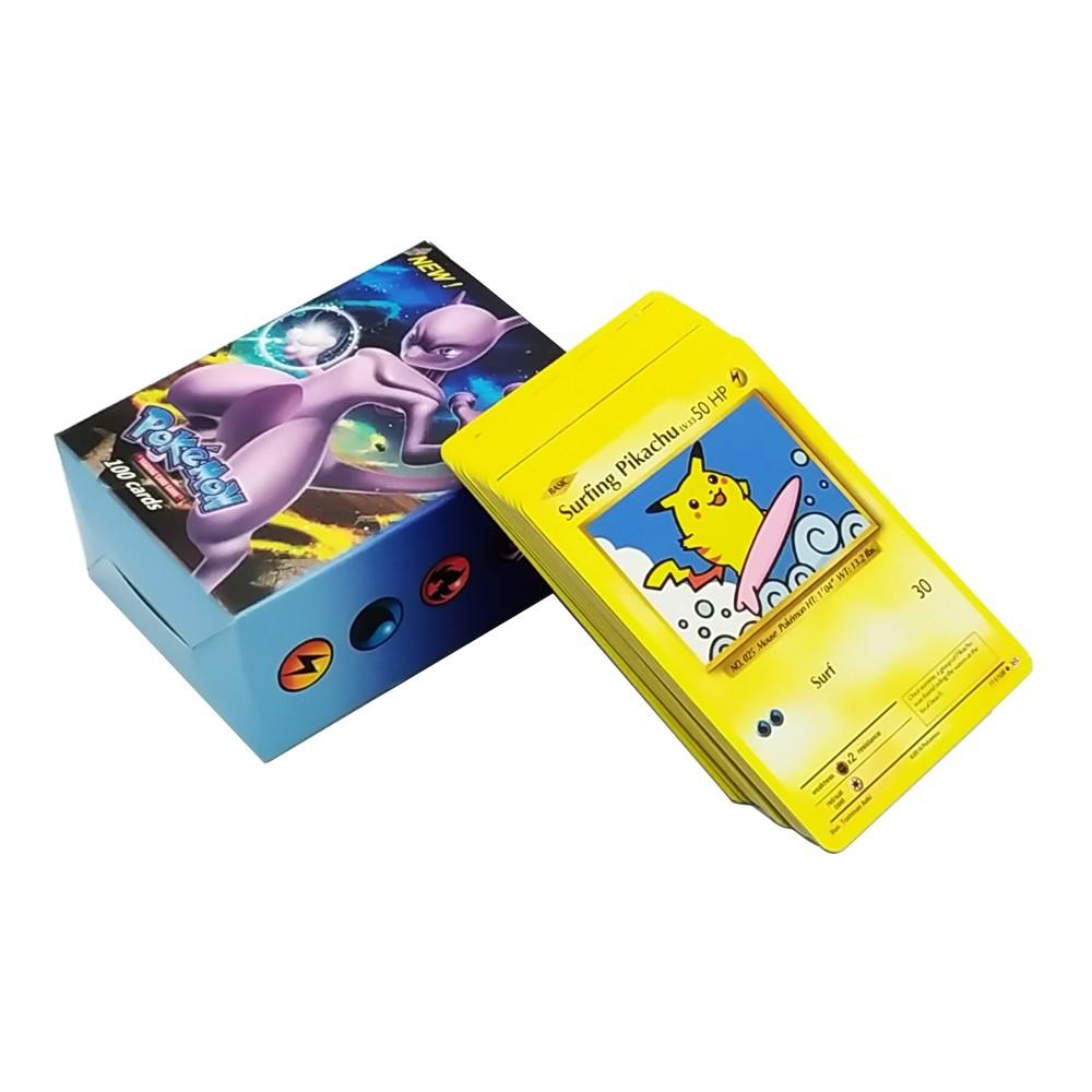 Impressão Trading Pokemon Playing Card