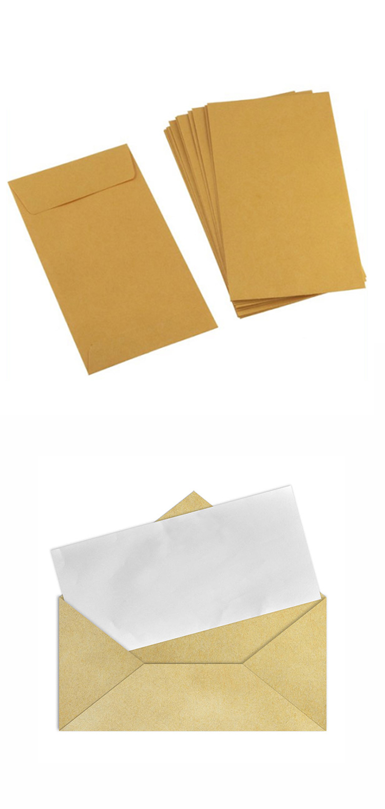 envelopes kraft