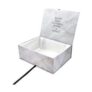 Logo luxury magnetic packaging wig box