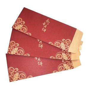 Печатная бумажная упаковка Сделано в красном конверте